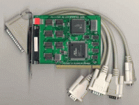 serielle Karte für den PCI Bus, 32 bit pci bus
