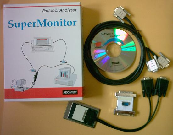Serial port communication sniffer monitoring utility, Serial